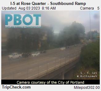 302.0 - I-5 at Rose Quarter - southbound ramp