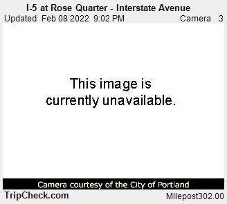 I-5 at Rose Quarter - Interstate Avenue
