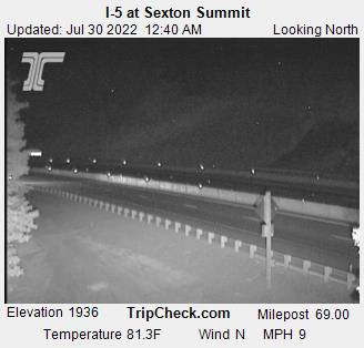 I-5 at Sexton Summit (North)
