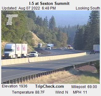 I-5 at Sexton Summit (South)