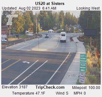 RoadCam - US20 at Sisters