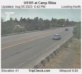 Hwy 101 at Camp Rilea