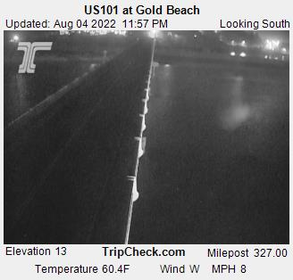 US 101 at Gold Beach