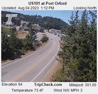 US 101 @ Port Orford