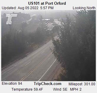 Port Orford Oregon Camera