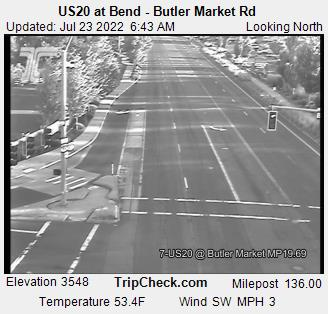 Us20 At Bend Butler Market Rd Oregon Road And Traffic Cam
