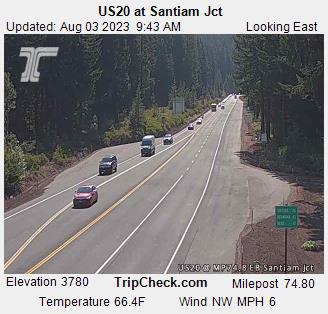 Santiam Pass Web Cams