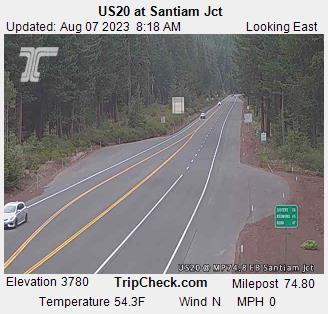 Hwy 20 at Santiam Junction