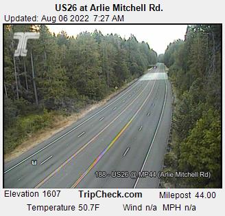 Road Condition Cameras on Mt  Hood