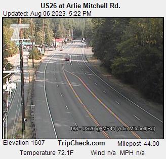 US26 EB at Arlie Mitchell Rd.