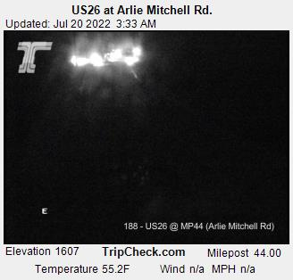 Hwy 26 at Arlie Mitchell Road