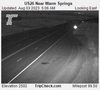 Hwy 26 near Warm Springs