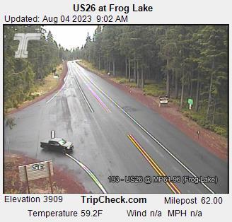 Hwy 26 at Frog Lake