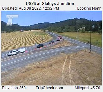 Hwy 26 at Staleys Junction
