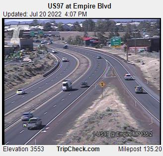 Us97 At Empire Blvd Oregon Road And Traffic Cam