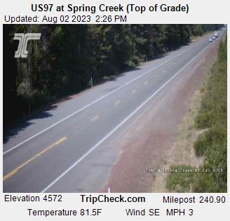Hwy 97 at Spring Creek (top)