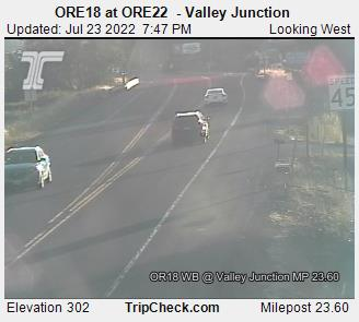 Hwy 18 at Hwy 22 - Valley Junction