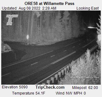 Oregon Road, Traffic Condtions: Willamette Valley, I-5