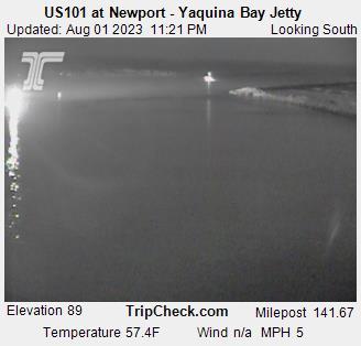 Yaquina Bay Jetty cam