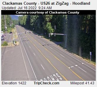 US 26 Hoodland webcam