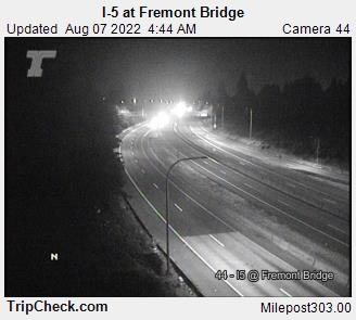 I-5 at Fremont Bridge