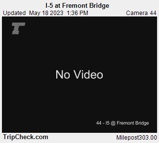 Wsdot I 5 At Fremont Bridge North Portland Oregon Cameras