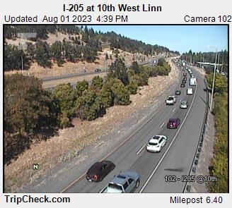 I-205 at 10th - West Linn