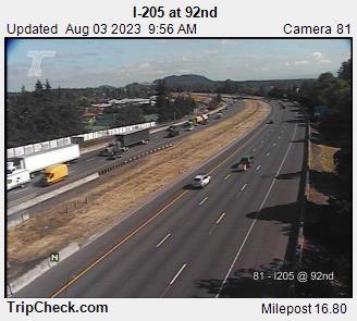 I-205 at 92nd