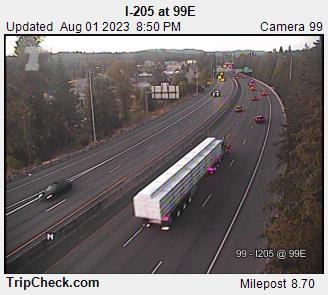 I-205 in Oregon City (Abernathy Bridge)