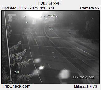 WSDOT - I-205 at 99E - South Portland Oregon Cameras