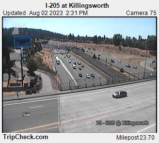 I-205 at Killingsworth