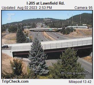 I-205 at Lawnfield