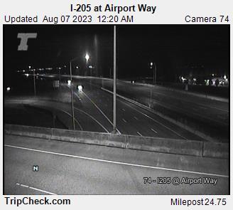 I-205 at Airport Way
