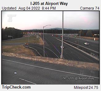 I-205 at Airport Way