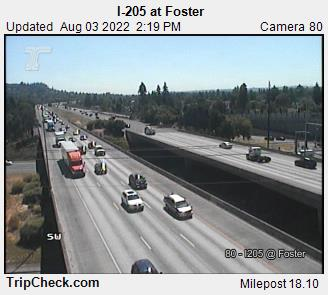 I-205 at Foster