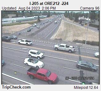 I-205 at ORE 212-224
