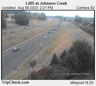 I-205 at Johnson Creek