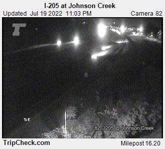 I-205 at Johnson Cr.