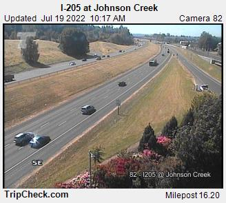 I-205 at Johnson Cr.