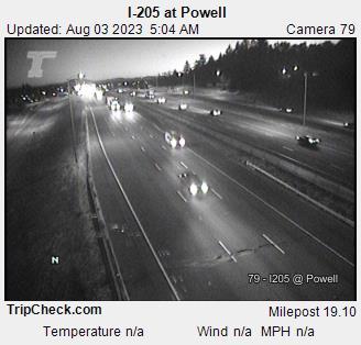 I-205 at Powell Blvd
