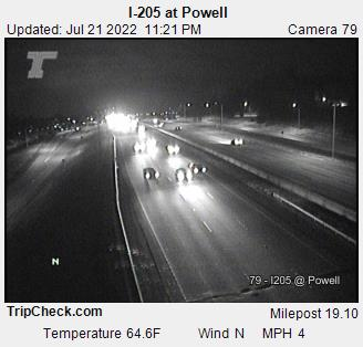 I-205 at Powell