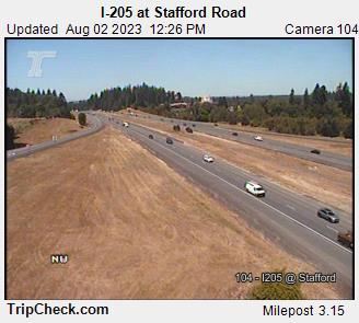 I-205 at Stafford Road