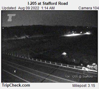 I-205 at Stafford Rd.