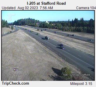 I-205 at Stafford Rd.