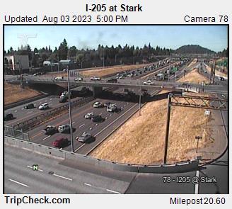 I-205 at Stark