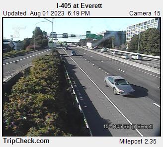 I-405 Everett Portland