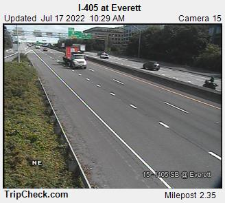 I-405 at Everett