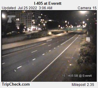 I-405 at Everett