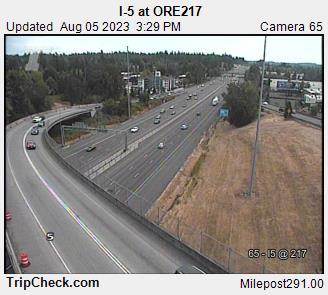 I-5 at ORE 217