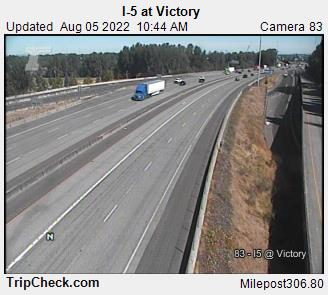 I 5 At Victory Oregon Road And Traffic Cam